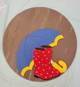 Umbrella Door Hanger Workshop: Wednesday April 8 from 7-9 PM