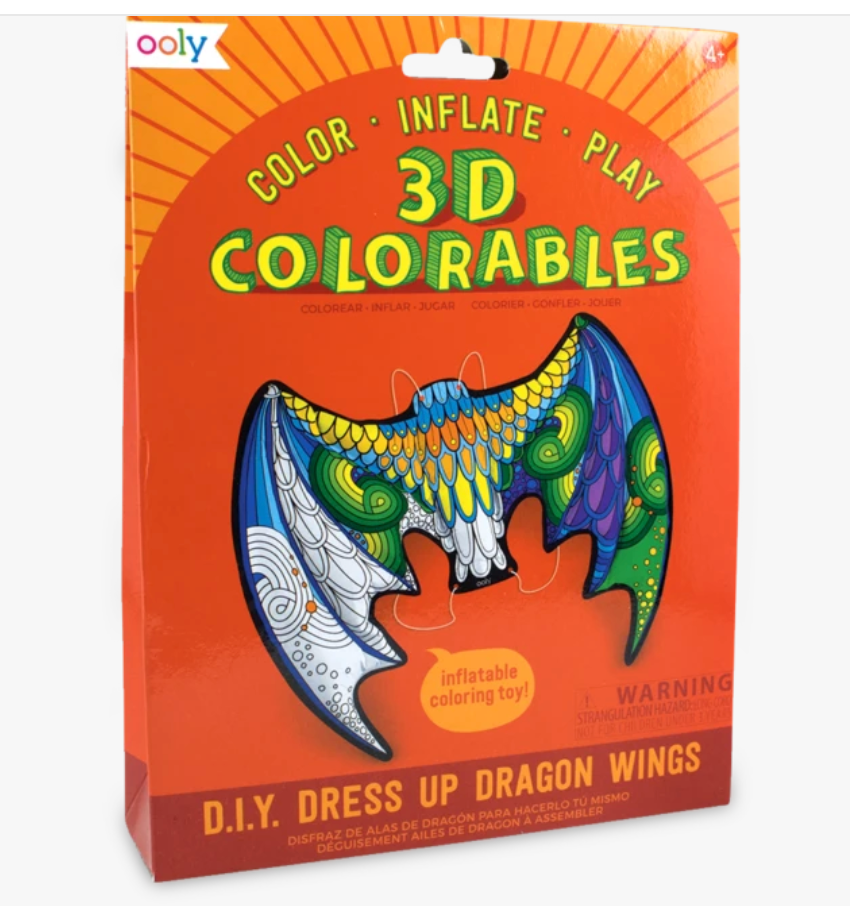 3D Colorables - Dress Up Dragon Wings Coloring Toys