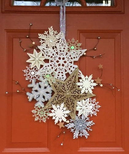 Snowflake Door Hanger Workshop: Sunday, January 5th from 2-4pm
