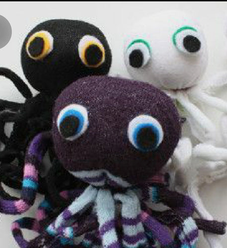 Socktopus Workshop: Sunday, February 16th from 1-3pm