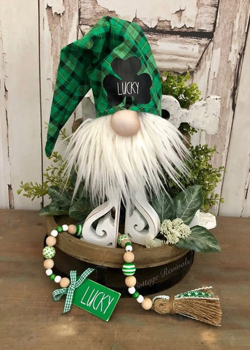 St. Patrick's Day Gnomes Workshop: Sunday, March 8th from 12-2pm