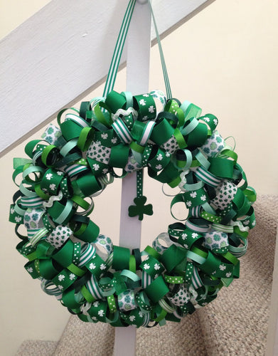 St. Patrick's Day Wreath Workshop: Saturday, March 7th: 5-7pm