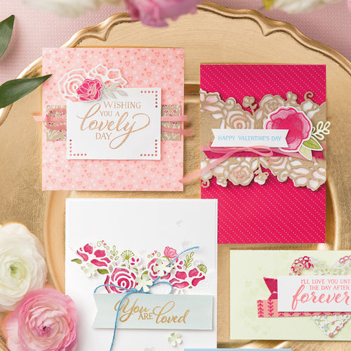 Valentine's Day Card Making Workshop: Saturday, January 25th from 1-3pm