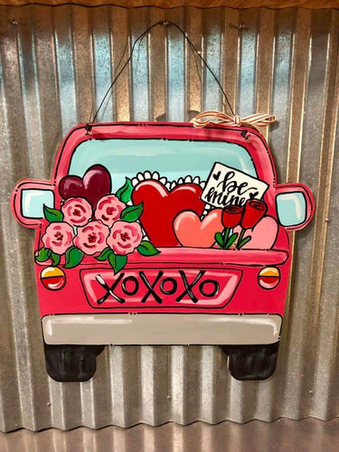 Car or Jar Wooden Door Hanger Workshop: Saturday Feb. 1 from 4-6pm