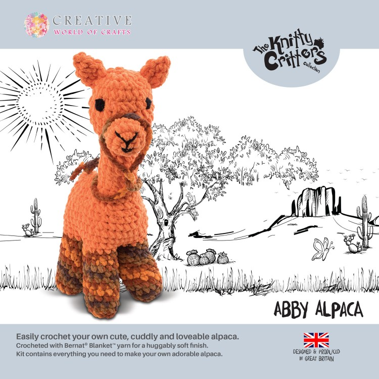 Abby Alpaca Crochet Kit