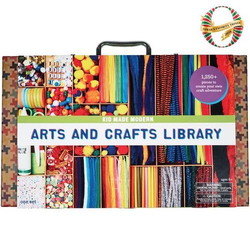 Art and Craft Library by Kid Made Modern