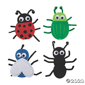 Busy Bag - Bugs - At Home Art Kit