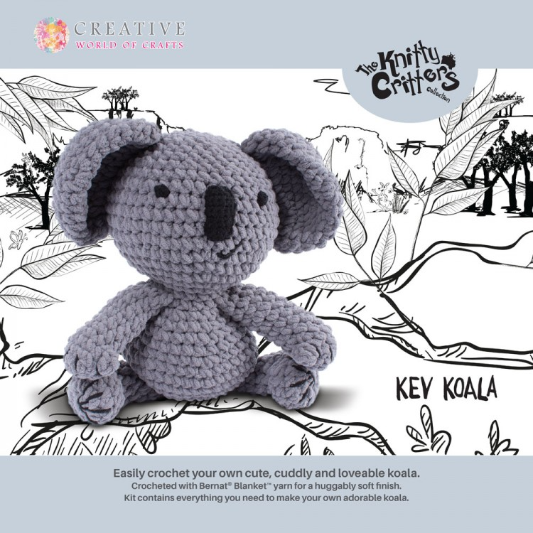 Kev Koala Crochet Kit