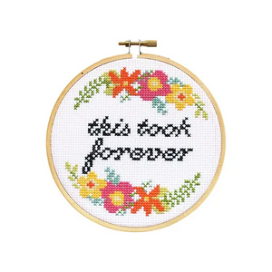 Stranded Stitch Cross Stitch