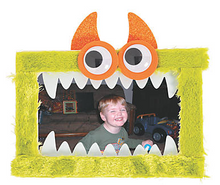 Load image into Gallery viewer, Busy Bag - Monster - At Home Art Kit