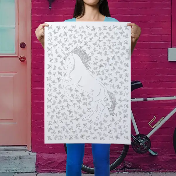 Coloring Posters By Anna Grunduls Design
