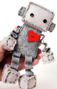 Felt Robot Sewing Kit