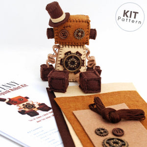 Steampunk Robot Sewing Kit