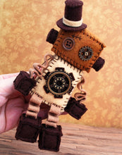 Load image into Gallery viewer, Steampunk Robot Sewing Kit