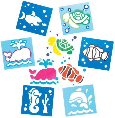 Busy Bag - Sea Life - At Home Art Kits