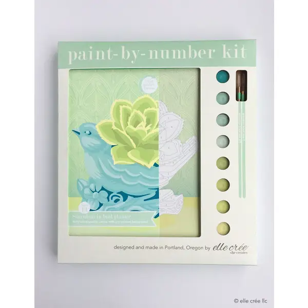 Paint By Number By Elle Crée