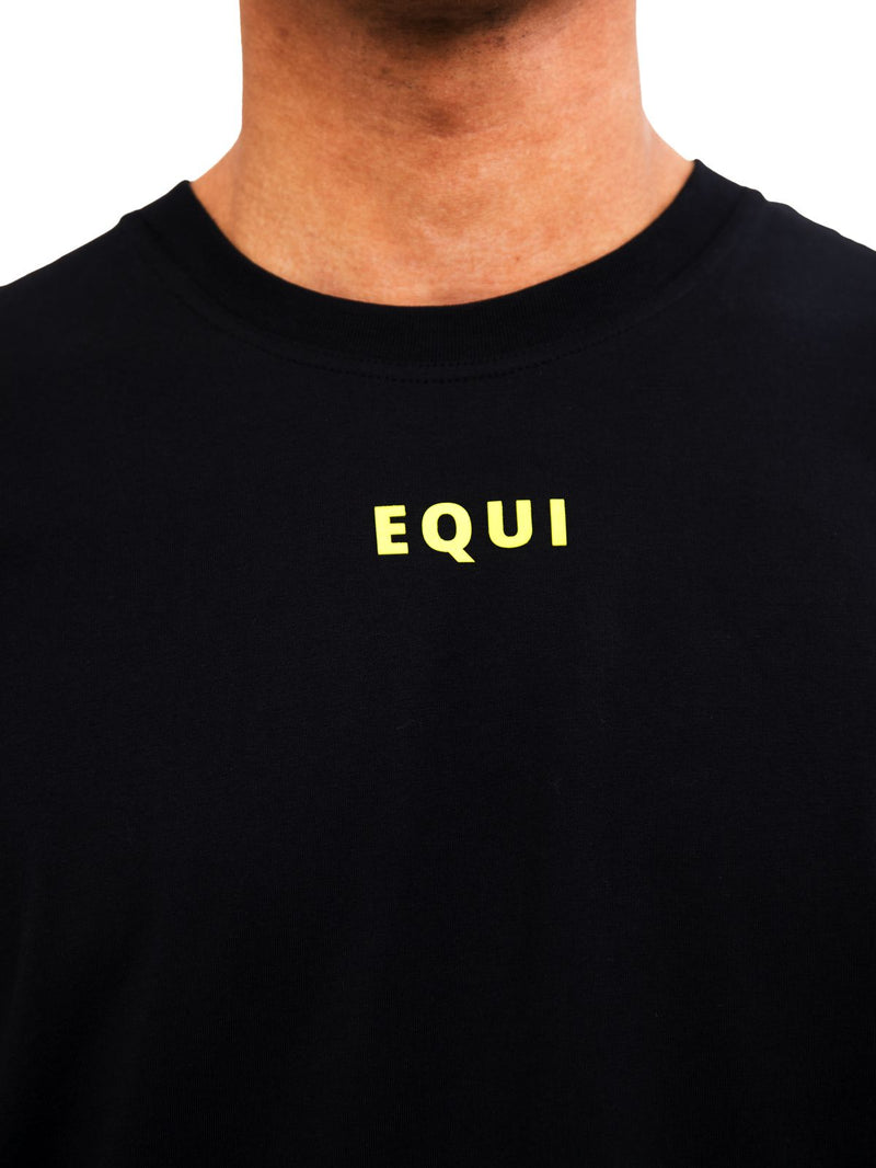 Box Logo Tee Black - Equi Clothing equiclothing.com