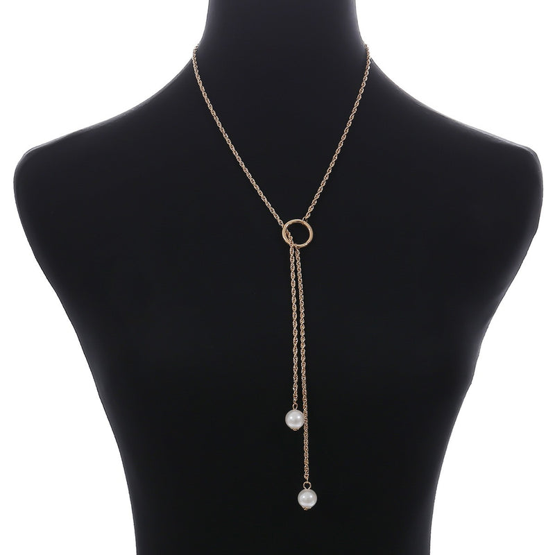 Geometric E-Plating Choker Necklace Female Necklaces