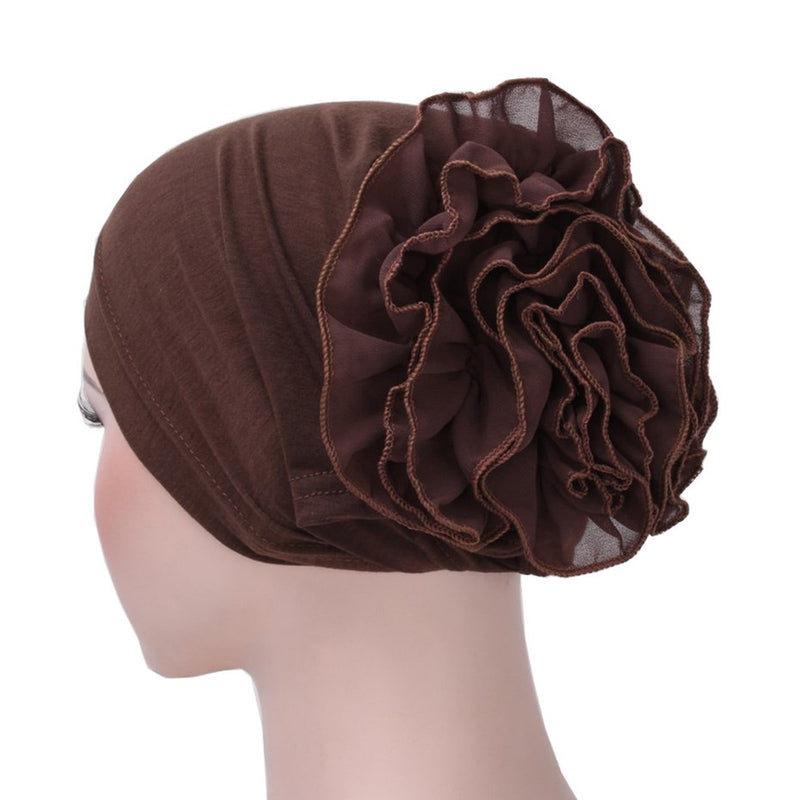Ethnic Cotton Pleated Winter Hats