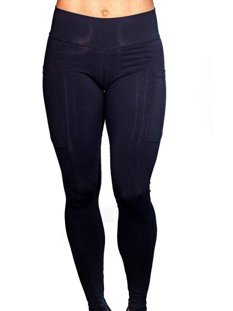 Pockets Polyester Anti-Sweat Solid Winter Female Volleyball Pants