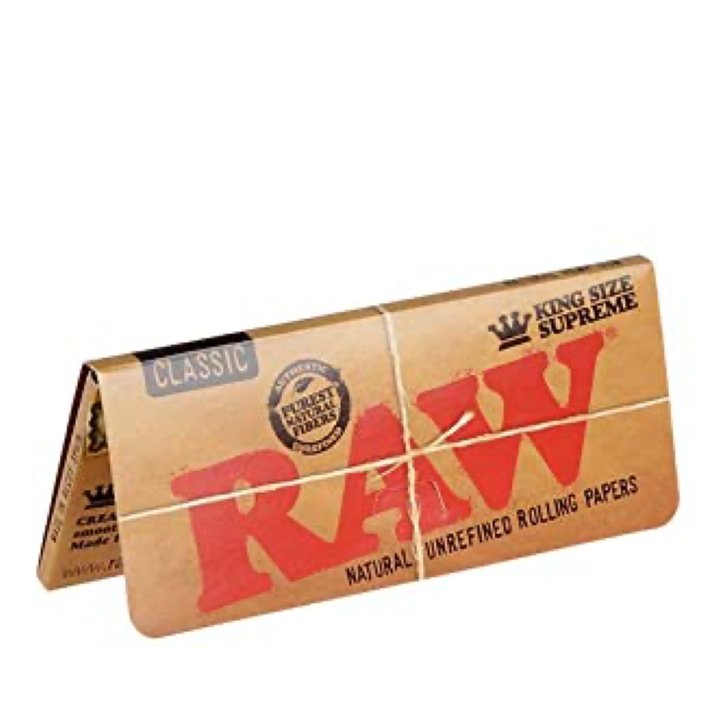 Feuilles à rouler RAW king size