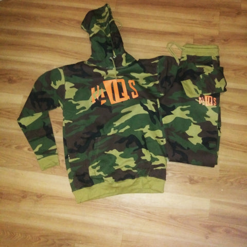 RaqsGear Camouflage track suit