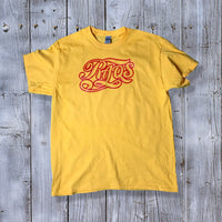 "RaqsGear sponsored tee ""yellow/red"""