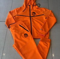 Raqs Gear fleece tech suit orange