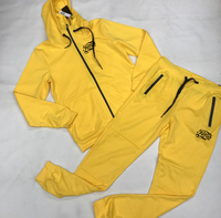Raqs Gear fleece tech suit yellow