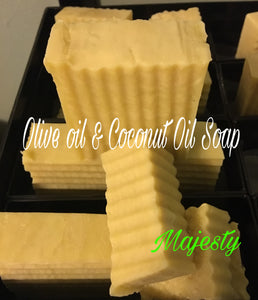 Vegan Olive Oil and Coconut Oil Soap