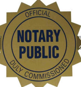Notarized Documents