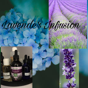 Lavender infused bath salts