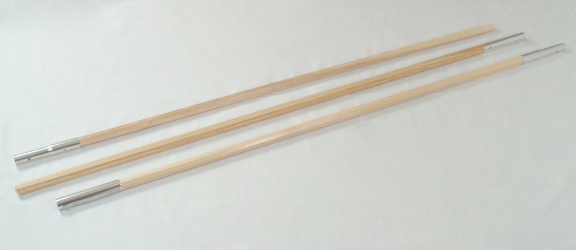 6' Ash Pole Sections
