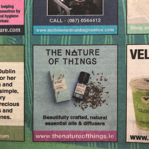 advertisement in the Irish Daily Mail