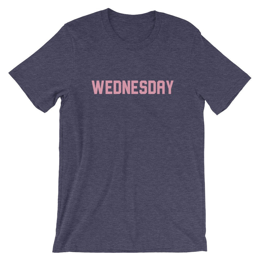 Wednesdays In Pink Graphic Tee - pinksundays