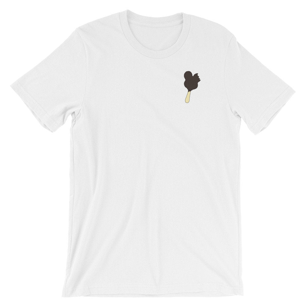 Mouse Ice Cream Pocket Detail Graphic Tee - pinksundays