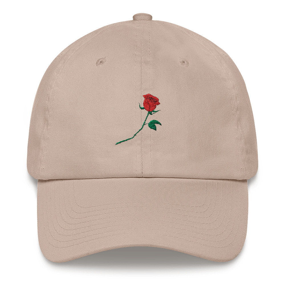 Rose Dad Hat - pinksundays