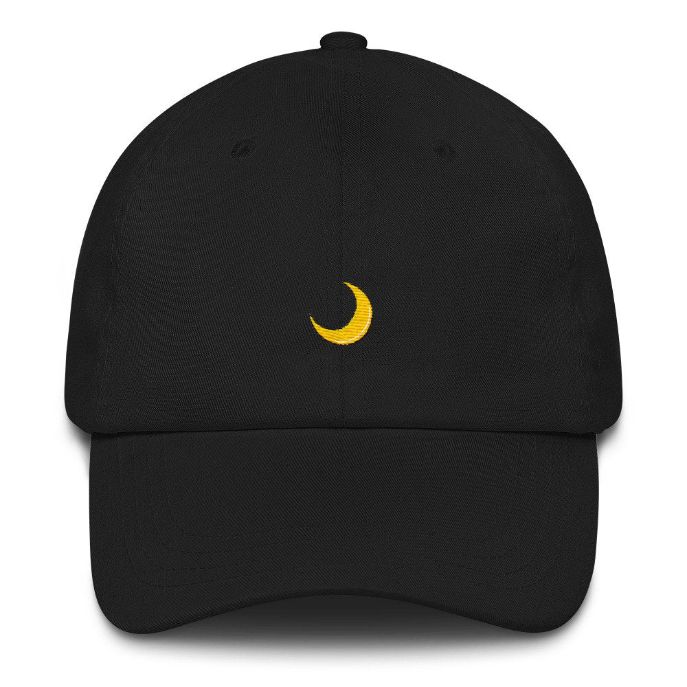 Crescent Moon Dad Hat - pinksundays