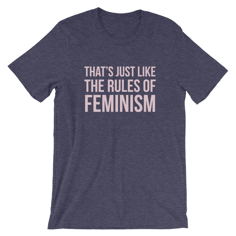 The Rules Of Feminism Graphic Tee - pinksundays