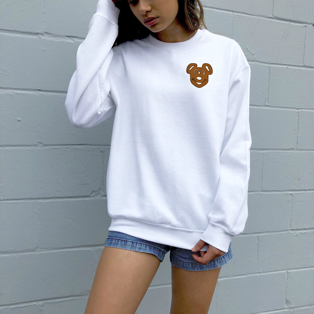 Mouse Pretzel Sweater - pinksundays
