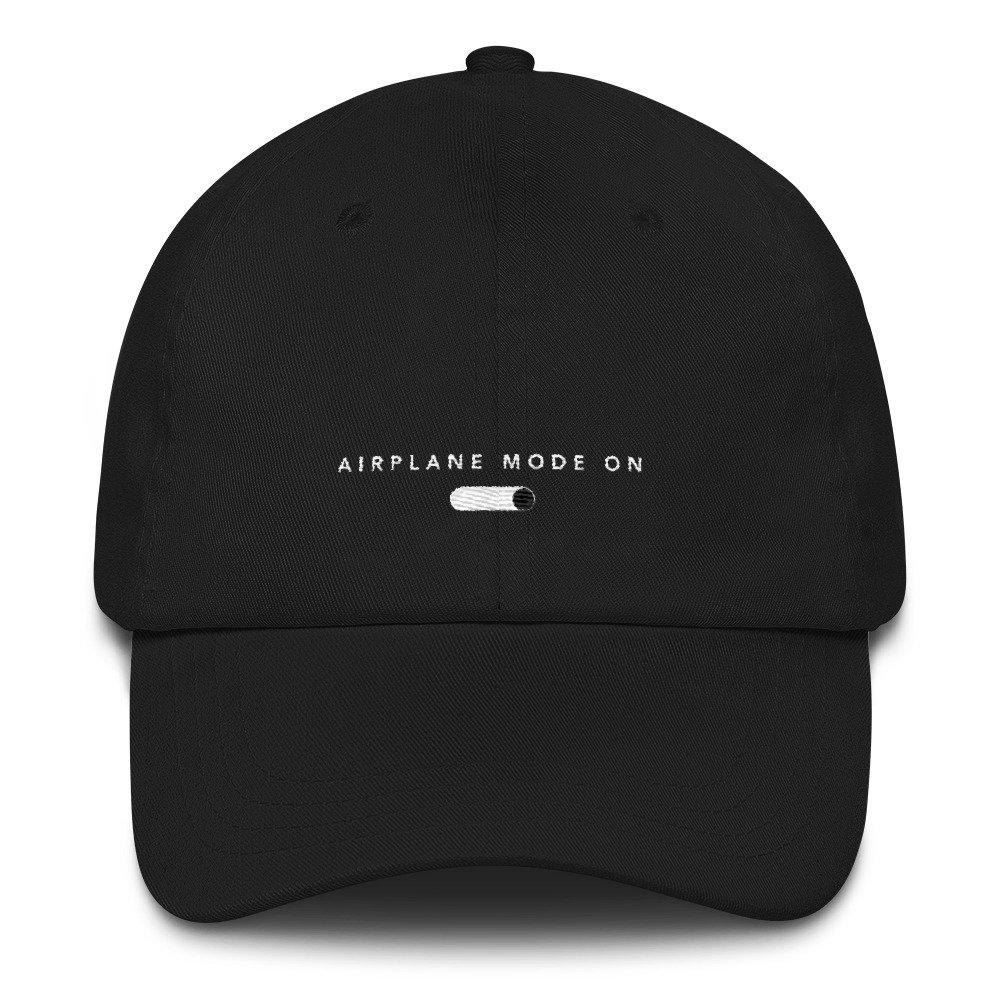 Airplane Mode On Dad Hat