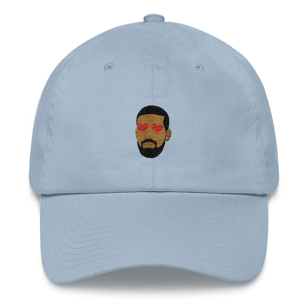 Heart Eyed Drake Dad Hat - pinksundays