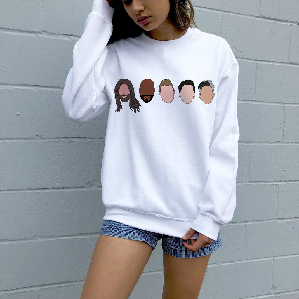 Fab Five Sweater - pinksundays