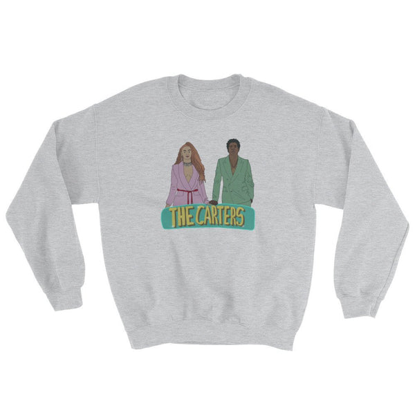 The Carters, graphic sweatshirt, crewneck sweater, beyonce sweater, jay-z sweater, beyonce and jay-z, on the run sweater, on the run two