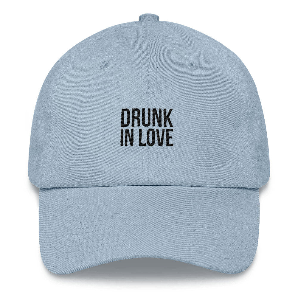 Drunk In Love Dad Hat - pinksundays