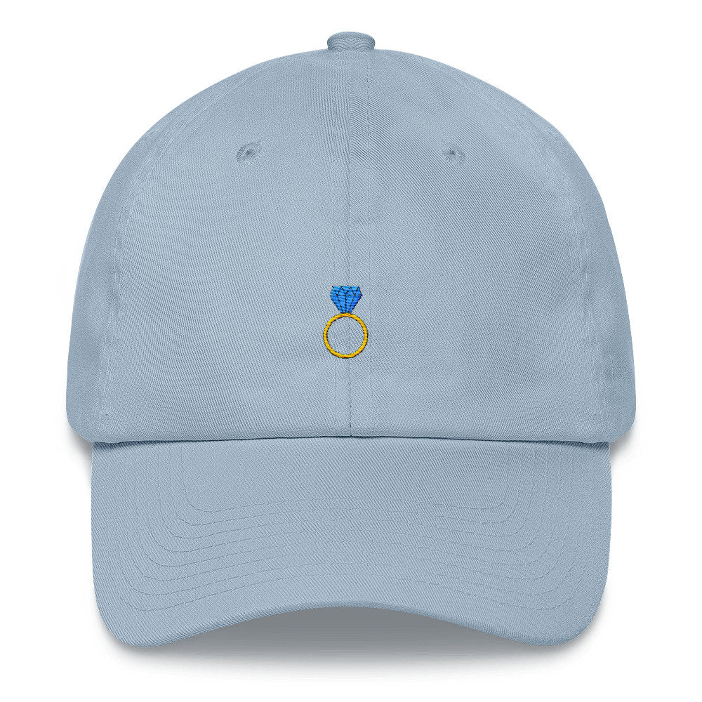 Engagement Ring Dad Hat - pinksundays