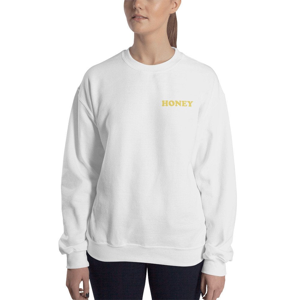 Honey Pocket Detail Sweater - pinksundays