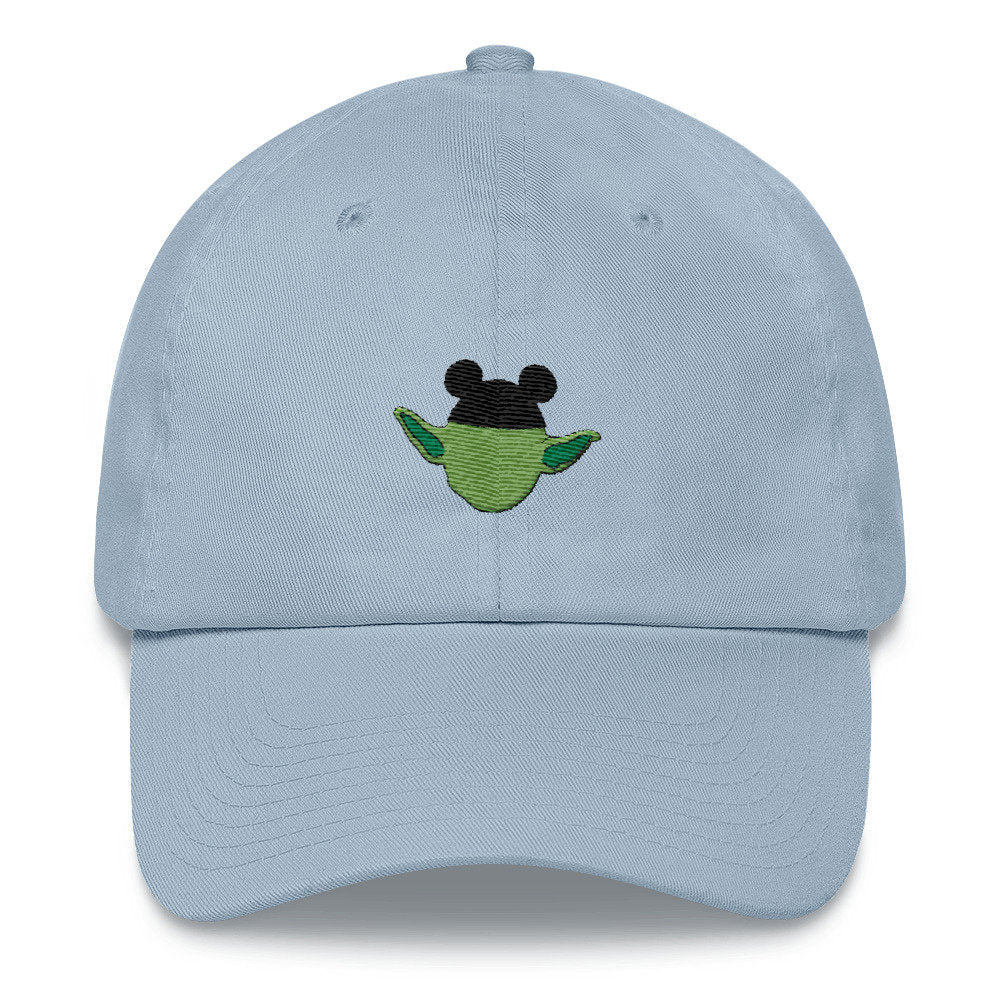 Mouse Ears Yoda Dad Hat - pinksundays