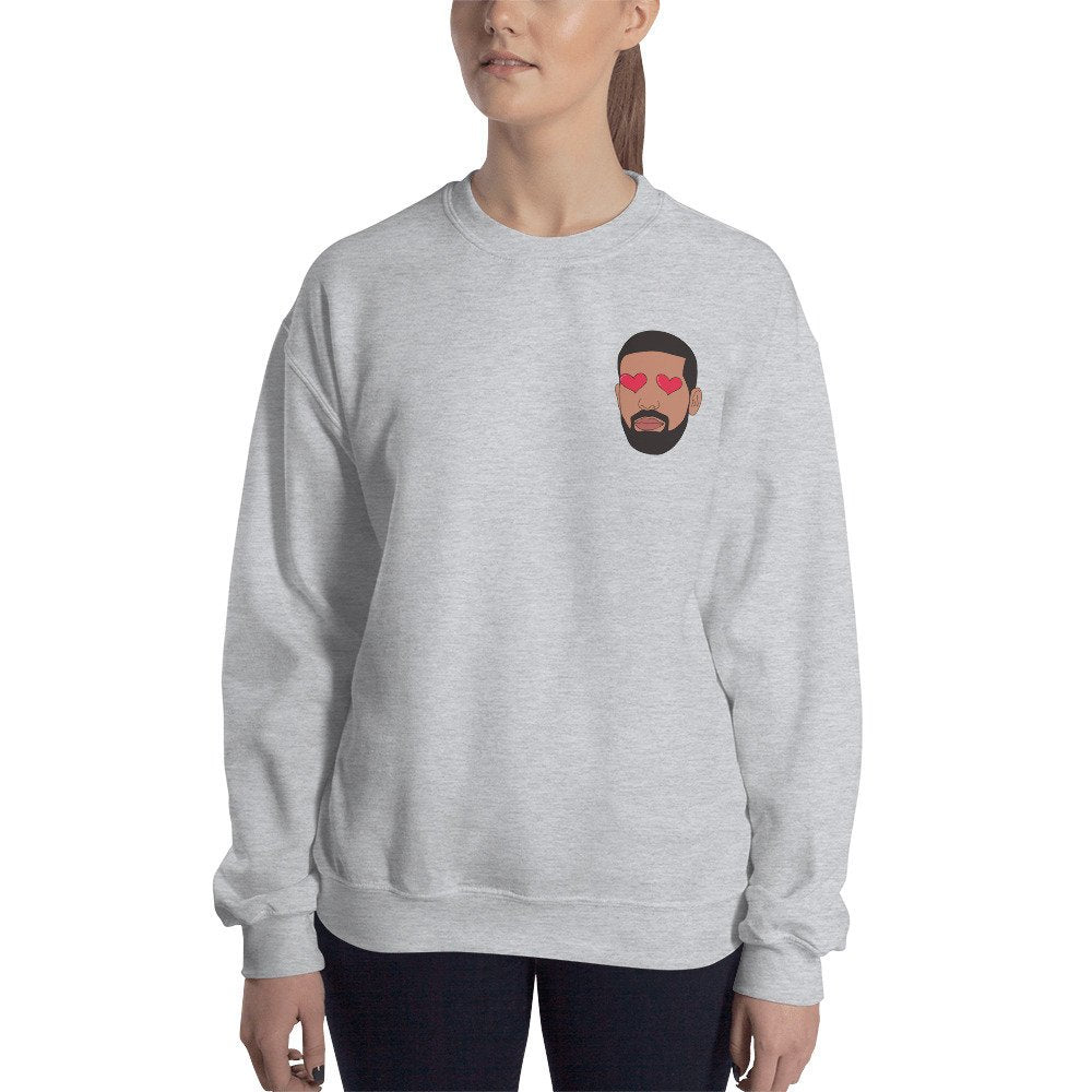 Heart Eyed Drake Sweater - pinksundays