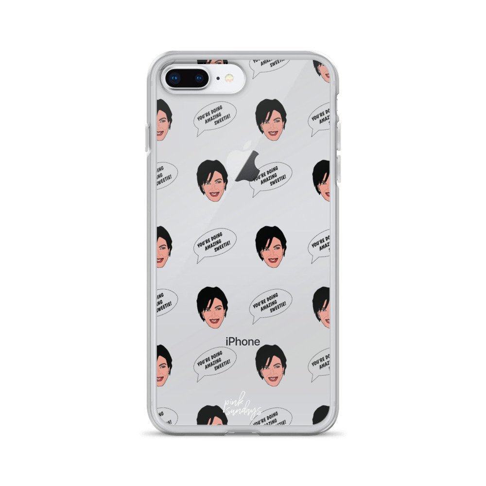 Kris Jenner Iphone Case - pinksundays